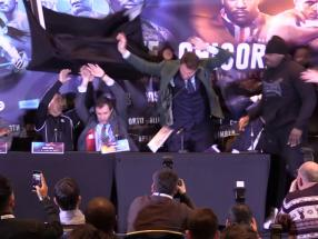 Dereck Chisora and Dillian Whyte bout to go ahead despite fracas